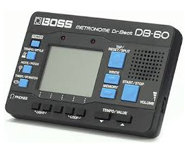 BOSS DB-60 Metronome 20 Drum Patterns 8 Memories