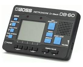 BOSS DB-60 Metronome 20 Drum Patterns 8 Memories