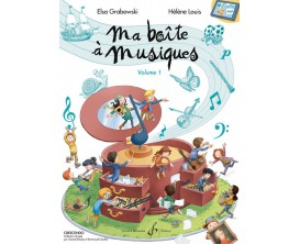 Ma Boîte à Musique Volume 1 - E. Grabowski H. Louis - Ed. Billaudot