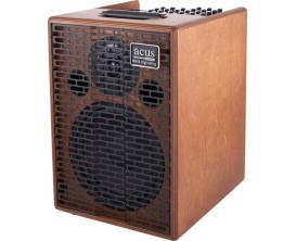 ACUS One-8 Wood - Ampli électro-acoustique 3 canaux 200w, finition bois