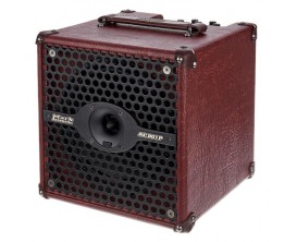 "DV MARK AC801P - Ampli Electro-acoustique compact 50 Watts, HP 8"" + tweeter"