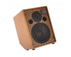 ACUS One-8C Wood Version Pan coupé - Ampli électro-acoustique 3 canaux 200w, finition bois (avec pan coupé)