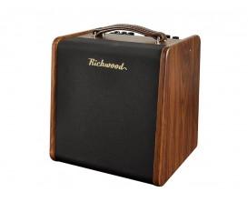 "RICHWOOD RAC-50 - Ampli électro-acoustique 50 watts 2 canaux, HP 6.5"" + tweeter 1"""