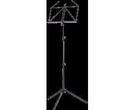 K&M 100-1-55 - Pupitre Pliable Deluxe Noir