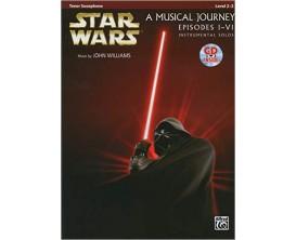 Star Wars A Musical Journey Episodes I-IV avec CD (Alto Sax) - John Williams - Hal Leonard