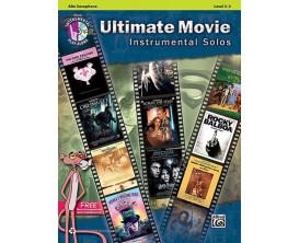 Ultimate Movie Instrumental Solos (Alto Sax, avec CD) - Alfred Publishing