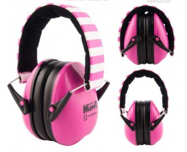 ALPINE Muffy Pink - Protection auditive enfants, casque isolant, rose*