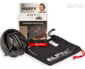 ALPINE Muffy Music - Casque de Protection auditive, taille adulte, tout instrument dont batterie, -25dB