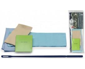 STAGG SCK-FL - Kit d'entretien pour flûte traversière (chiffon écouvillon, tige écouvillon, chiffon de nettoyage en feutre, chif