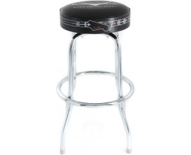 FENDER 0990230010 - Tabouret Barstool 30 pouces, logo Fender Custom Shop