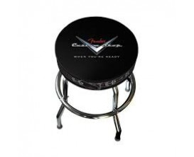 FENDER 0990230020 - Tabouret Barstool 24 pouces, logo Fender Custom Shop