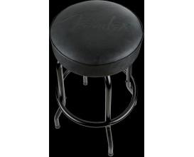 FENDER 9100323506 - Tabouret Barstool 24 pouces, Logo Fender, Black Edition