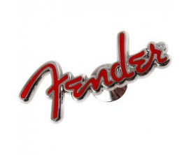 FENDER 9100207000 - Fender Logo Pin, Red