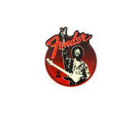 FENDER 9100277000 - Fender Hendrix Peace Sign Magnet