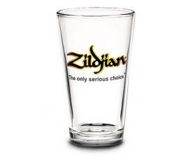 ZILDJIAN Beer glass - Pinte à bierre, transparent, logo noir