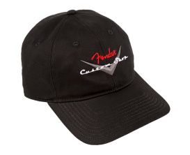 FENDER 9106635306 - Fender Custom Shop Baseball Hat, Black, One Size (copie)