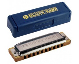 HOHNER M533107 Blues Harp MS A (La), 20 notes, sommier: doussié