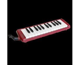 HOHNER C94264 Melodica Student 26 Rouge (avec boîte de transport)