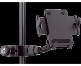 K&M 19745 - Support smartphone à clamper sur pied de micro