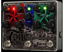 ELECTRO-HARMONIX Tone Tattoo - Multi-efects pedal (Metal Muff / Neo Clone / Memory Toy) - Série XO Alim fournie