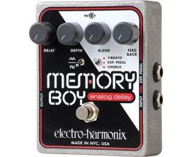 ELECTRO-HARMONIX Memory Boy - Analog Echo/Chorus/Vibrato - Série XO (Alim 9.6DC-200 fournie)