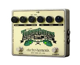 ELECTRO-HARMONIX Turnip Greens - Multi-effects Soulfood + Holy Grail Max - Série XO (avec alim)