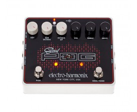ELECTRO-HARMONIX Soul Pog - Multi-efects pedal (Nano Pog / Soul Food) - Série XO Alim fournie