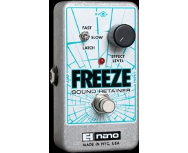 ELECTRO-HARMONIX Freeze - Infinite Sustain Pedal - Série Nano (Alim 9.6DC-200 fournie)
