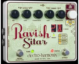 ELECTRO-HARMONIX Ravish Sitar - Sitar Emulator - Série XO (Alim 9.6DC-200 fournie)