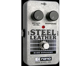 ELECTRO-HARMONIX Steel Leather - Attack Expander for Bass Guitar - Série Nano