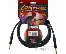 KLOTZ LAGPP0450 LaGrange Câble Guitare 4.5 m D/D*