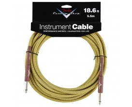FENDER 0990820030 Custom Shop Performance Series Cable, 18.6', Tweed