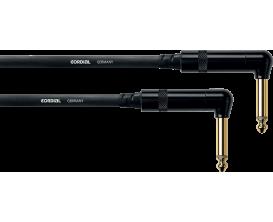 CORDIAL CFI0.3RR - Câble Jack/Jack Coudé 30 cm