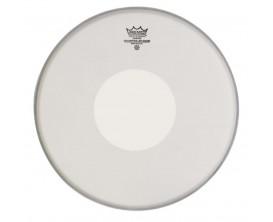 """REMO CS-0113-00 - Peau CS sablée 13"""" + rond blanc en-dessous, pour caisse claire"""