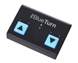 IK MULTIMEDIA iRig Blue Turn - Footswitch Bluetooth permettant de tourner les pages d'applications de partitions