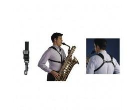 NEOTECH 752678 Harnais Saxophone Junior, attache mousqueton, longueur 21-31,2 cm