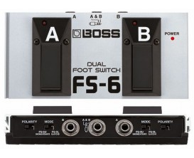 BOSS FS-6 Dual footswitch (latched and unlachted type)