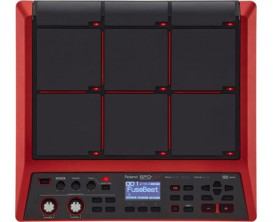 ROLAND SPD-SX SE - Special Edition Sampling Pad, 16 GO mémoire (Rouge)