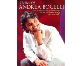 The Best Of Andrea Bocelli (Piano, Chant) - Chester Music