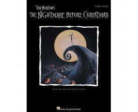 LIBRAIRIE - Tim Burton's - The Nightmare Before Christmas - Hal Leonard