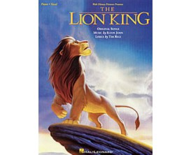 The Lion King Original Songs (Piano vocal) - E. John, T. RIce - Hal Leonard