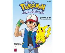 "Theme From Pokemon ""Gotta Catch' em All"" (Easy Piano) - T. Loeffler & J. Siegler - Cherry Lane Hal Leonard"