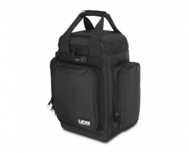 UDG U9023BLOR - Ultimate Producer Bag Small, intérieur Noir / Orange (Petit modèle)