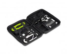 UDG U8419BL - Creator Digi Hardcase Large Black - Pochette de rangement DD avec Hub USB 7 ports