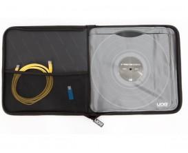 UDG U9648BL - Ultimate Tonecontrol Sleeve, Black - Pochette pour 4 vinyl de controle