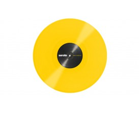 "SERATO Lot de 2 Vinyls 12"" Timecodés Yellow, Performance Serie"