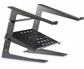 STAGG DJS-LT20 - Support Laptop à poser, acier, avec tablette inférieure