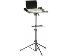 STAGG COS10BK - Stand pour laptop avec tablette supplémentaire