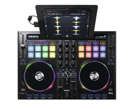 RELOOP Beatpad 2 - Contrôleur Ipad Professionnel 4 canaux (Compatible Spotify)