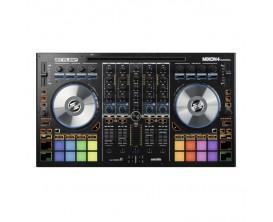 RELOOP MIXON4 - Controlleur DJ 4 canaux hautes performances, Compatible Mac / PC / IOS / Android